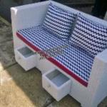 Sofa minimalis laci